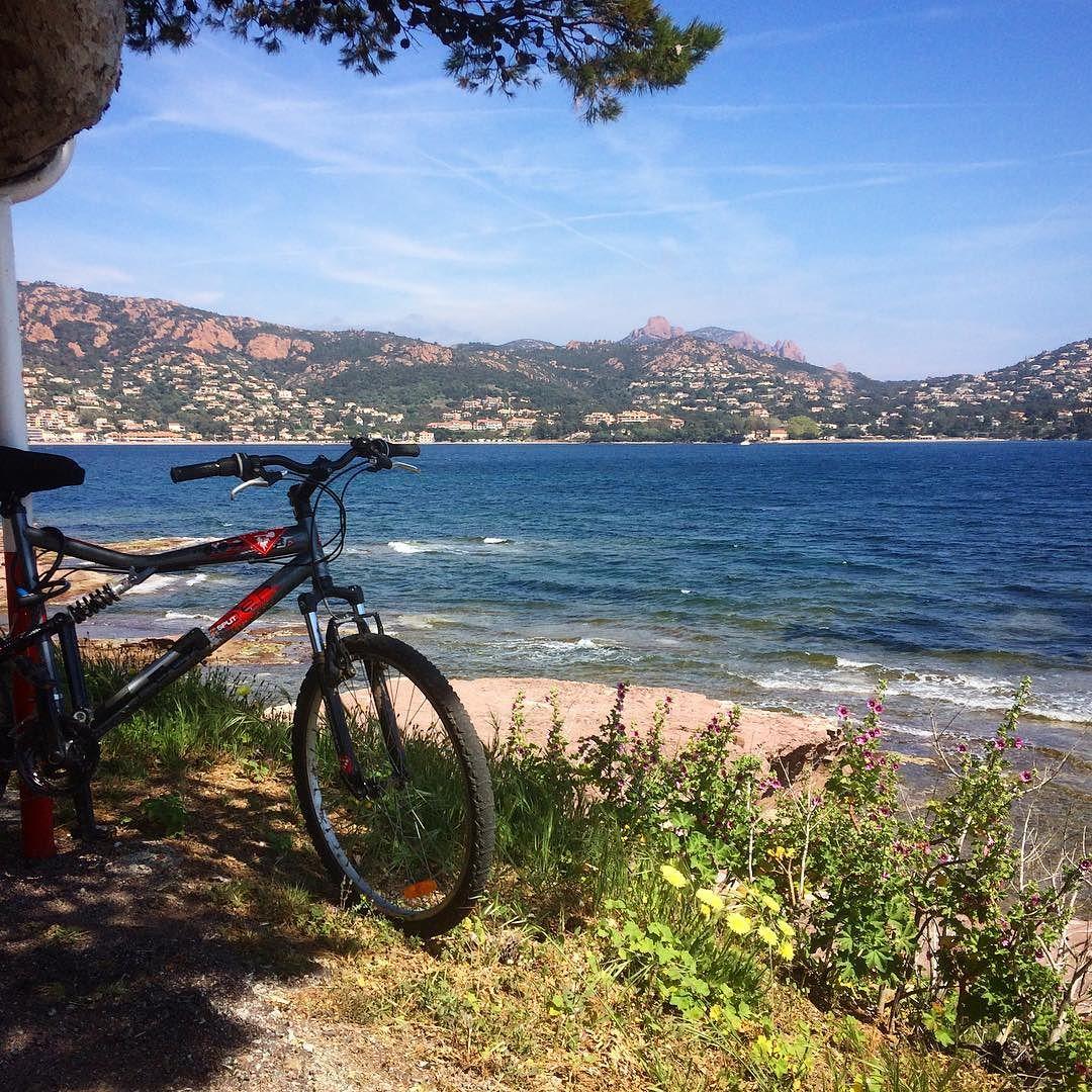 Vtt Agay location vacance plage destination var france