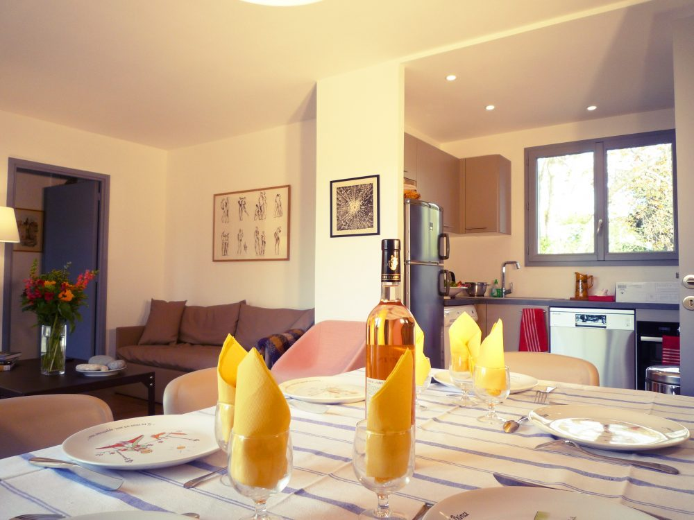 Salle a manger Les Platanes Maison Villa Résidence Agathos Agay Var Location Vacance