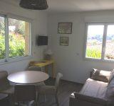 Salon appartement 20 residence agathos vacance agay