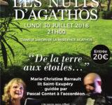 Nuits D Agathos residence vacance concert Marie Christine Barrault