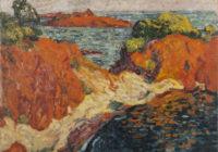 LOUIS VALTAT Les rochers rouges à Agay