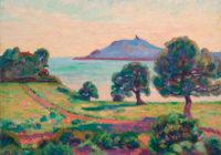 Guillaumin—Agay,-Le-Chateau-et-le-Semaphore