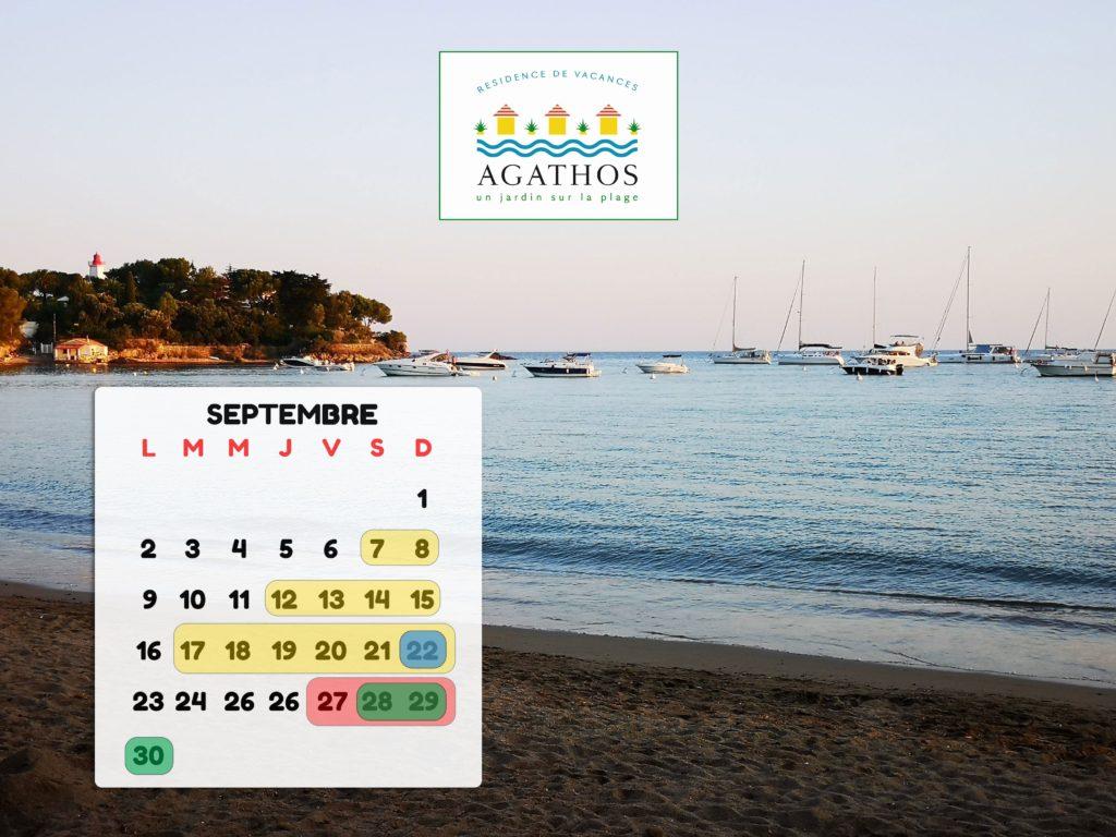 Que faire en septembre ?